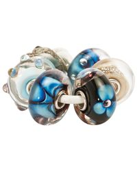 Trollbeads | Blue Wave Of Dream Glass Bead | Lyst