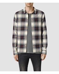 AllSaints | Black Haysville Shirt for Men | Lyst
