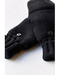 Urban Outfitters - Black Thinsulate Convertible Glove for Men - Lyst