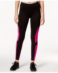 Calvin Klein | Black Performance Cold Gear Printed Leggings | Lyst