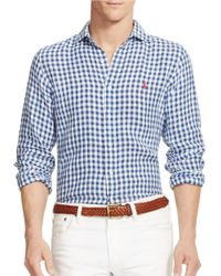 Polo Ralph Lauren | Blue Oxford Shirt for Men | Lyst