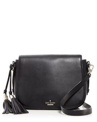 kate spade new york | Black Chepstow Road Elliot Saddle Bag - 100% Bloomingdale's Exclusive | Lyst