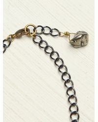 Free People | Metallic Etched Plate Bracelet | Lyst