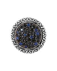 John Hardy | Blue Naga Midnight Colorway Round Ring | Lyst