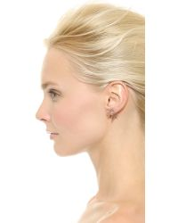 Maria Black - Pink Wing Earring Set Rose Gold - Lyst
