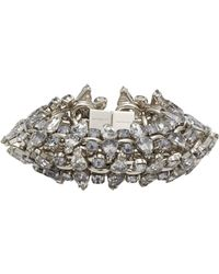 Givenchy - Metallic Strass Crystal Bracelet - Lyst