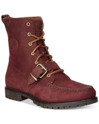 Polo Ralph Lauren - Red Ranger Boot for Men - Lyst
