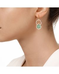 Monica Vinader | Green Diva Kiss Cocktail Earrings | Lyst