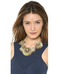 Deepa Gurnani - Metallic Celestial Creatures Necklace - Lyst