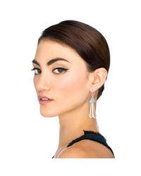 Lulu Frost - Metallic Crystaline Earring - Lyst