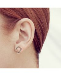 Coops London | Metallic Kite Squeeze On Earring | Lyst