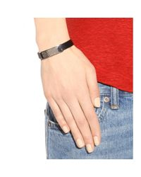 Marc By Marc Jacobs | Metallic Standard Supply Leather Bracelet | Lyst