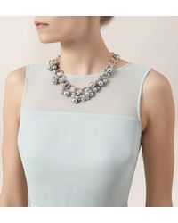 Hobbs - Metallic Rachel Pearl Necklace - Lyst