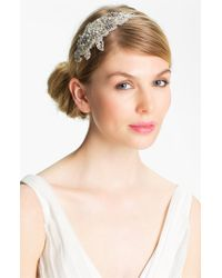 Halo | Metallic 'inez' Vintage Crystal Headband | Lyst