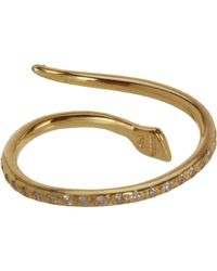 Ileana Makri | Metallic Small Python Ring | Lyst