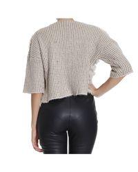 Pinko | Pink Sweater | Lyst