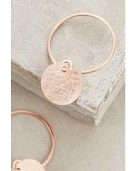 Anthropologie | Pink Rhodes Mini Hoops | Lyst