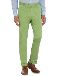 Richard James | Green Slim Fit Casual Chino for Men | Lyst