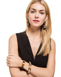 BaubleBar - Multicolor Pavé Tortoise Links - Lyst