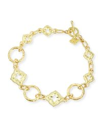 Armenta | Metallic 18k Yellow Gold Link Bracelet for Men | Lyst