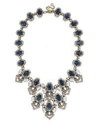 BaubleBar | Blue Deco Diamond Bib | Lyst