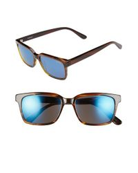 Randolph Engineering | Brown 'milton' 54mm Sunglasses for Men | Lyst