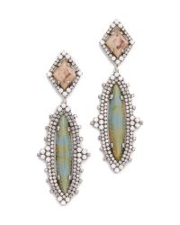DANNIJO - Natural Tatiana Earrings - Lyst