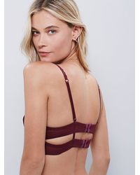 Free People | Brown Afterthoughts Underwire Bra | Lyst