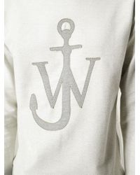 J.W.Anderson | Gray Anchor Sweatshirt for Men | Lyst