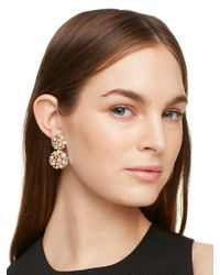 kate spade new york - Metallic Pick A Pearl Drop Earrings - Lyst