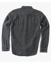Obey | Black L/s Davin Shirt | Lyst