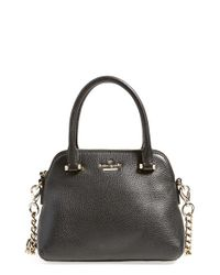 kate spade new york | Black 'emerson Place - Small Maise' Satchel | Lyst
