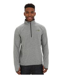 The North Face | Gray Rockland 1/4 Zip Pullover for Men | Lyst