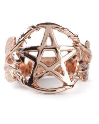 Pamela Love - Metallic Pentagram Ring - Lyst