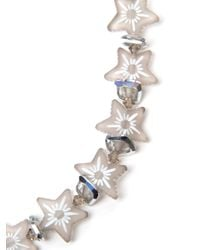 Shebee - White All Star Necklace - Lyst