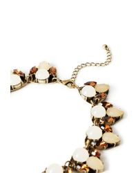 Forever 21   Natural Faux Gemstone Necklace   Lyst