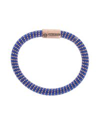 Carolina Bucci | Metallic Cobalt Twister Band Bracelet | Lyst