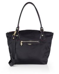 MZ Wallace | Black Chelsea Nylon Tote | Lyst