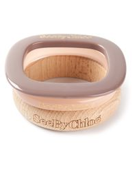 See By Chloé - Purple Mixed Bangles - Lyst