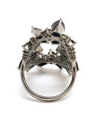 Fernando Jorge | Gray 18k Oxidised Gold and Black Diamond Ring | Lyst