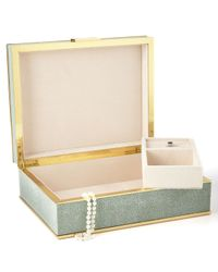 Aerin - Shagreen Jewelry Box - Lyst