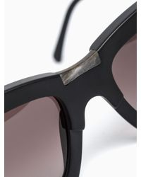 Kuboraum - Black K5 Bm Sunglasses for Men - Lyst
