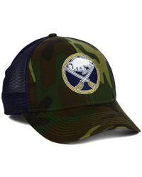 Reebok - Green Buffalo Sabres Camo Trucker Cap for Men - Lyst