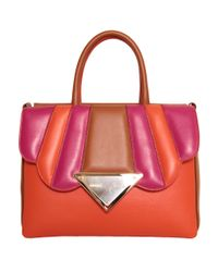 Sara Battaglia - Multicolor Bess Leather Bag - Lyst