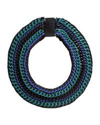 H&M | Black Wide Necklace | Lyst