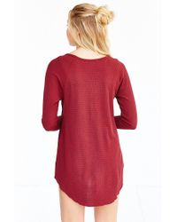 Truly Madly Deeply - Red Myles Thermal Top - Lyst