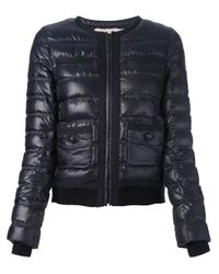 Tory Burch - Blue Kerstin Padded Jacket - Lyst