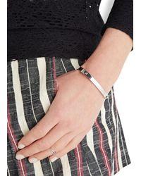 COACH | Metallic Silver Tone Bracelet | Lyst