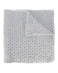 Lala Berlin | Gray Crochet Knit Scarf | Lyst