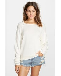 Volcom | White 'unwrytten' Sweater | Lyst
